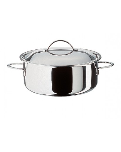 Spring: Cristal Low Casserole with Lid 18 cm