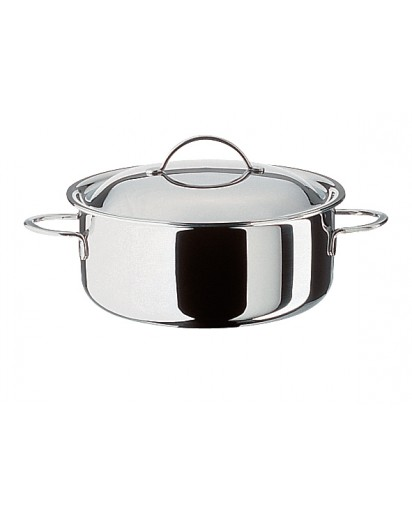Spring: Cristal Low Casserole with Lid 20 cm