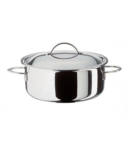 Spring: Cristal Low Casserole with Lid 24 cm