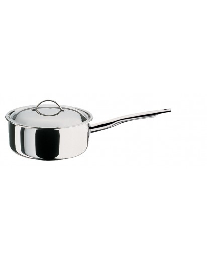 Spring: Cristal Low Saucepan with Lid 20 cm
