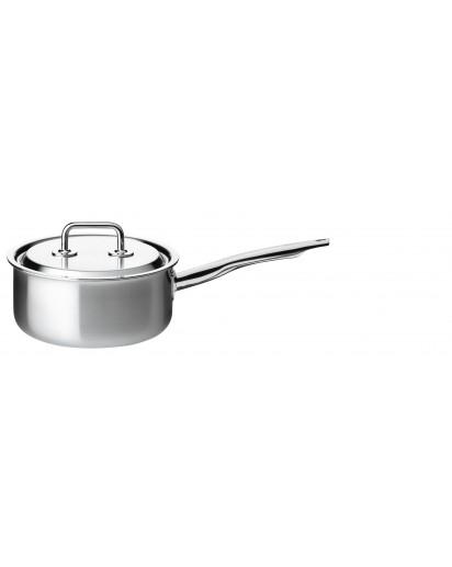 Spring: Brigade Premium Low Saucepan with Lid, 18 cm