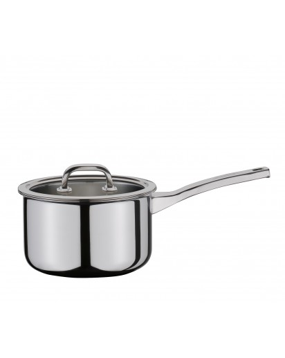 Spring: Finesse Deep Saucepan with Lid 18 cm
