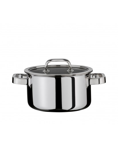 Spring: Finesse Deep Casserole with Lid 16 cm