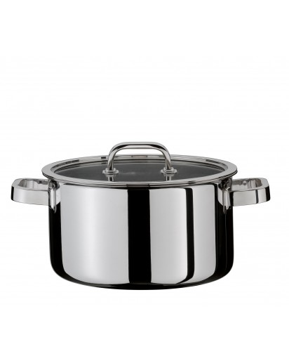 Spring: Finesse Deep Casserole with Lid 20 cm