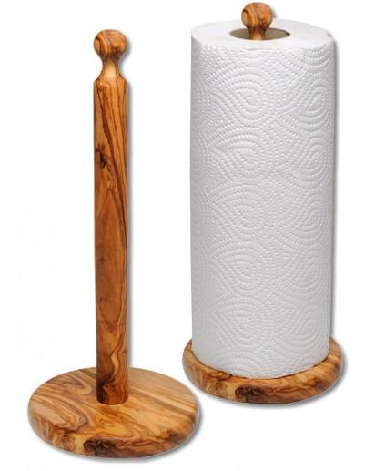 Kitchen Roll Holder Olive Wood