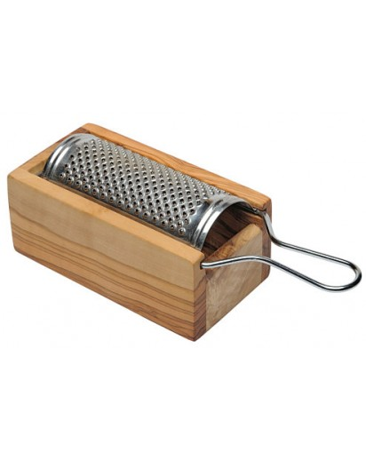 Cheese Grater Olive Wood