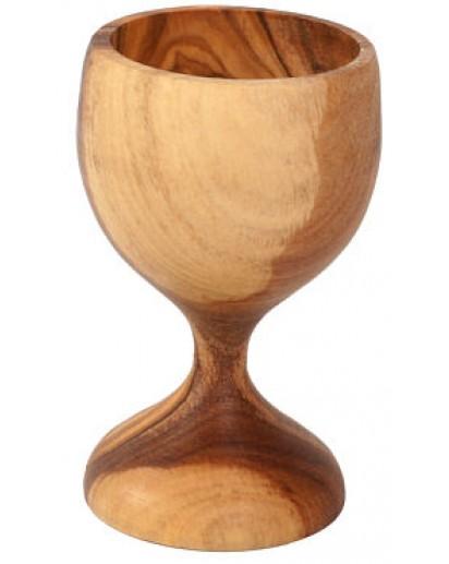 Egg Cup Olive Wood, 8 cm