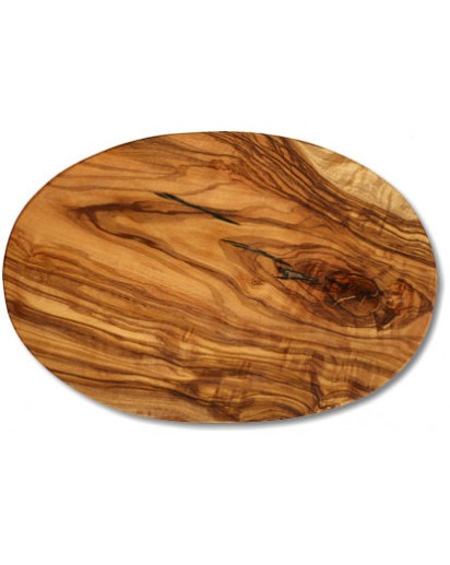 Cutting Board Oval Olive Wood