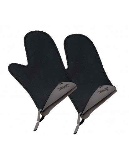 Spring: Grips Stove Mittens Short Grey, 1 Pair
