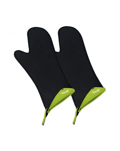 Spring: Grips Stove Mittens Long Light Green, 1 Pair