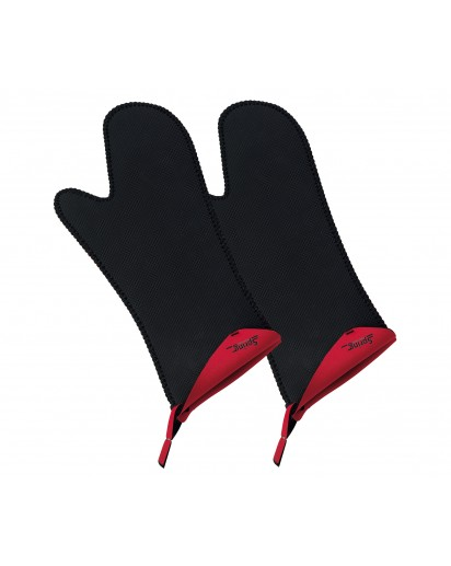 Spring: Grips Stove Mittens Long Red, 1 Pair