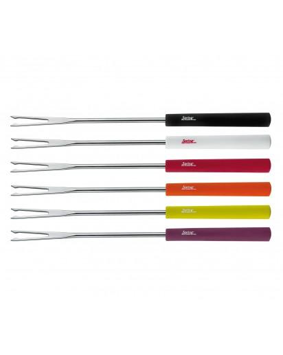 Spring: Meat Fondue Forks Basic Multicolored, 6 pcs