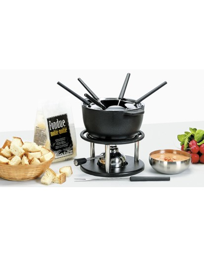 Kisag: Fondue Set Twin 10 Pcs