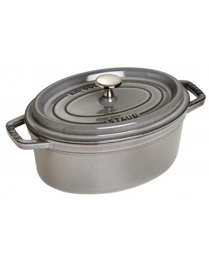Staub: Oval Cocotte 23 cm, Grey