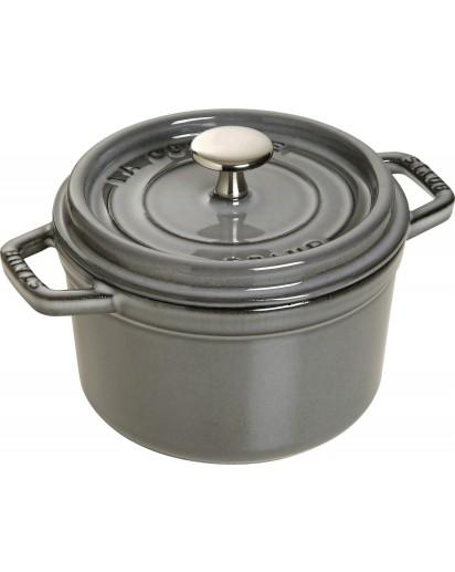 Staub: Round Cocotte, 14 cm, graphite grey