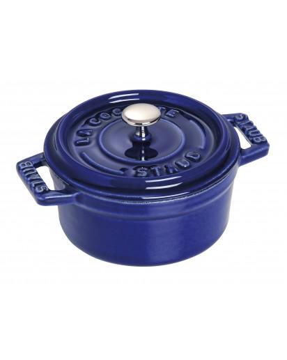 Staub: Round Mini Cocotte, 10 cm, dark blue