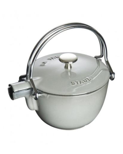 Staub: Round teapot, 16.5 cm, grey