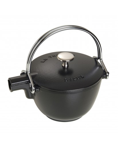 Staub: Round teapot, 16.5 cm, black