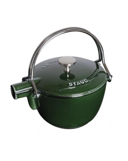 Staub: Round teapot, 16.5 cm, basil