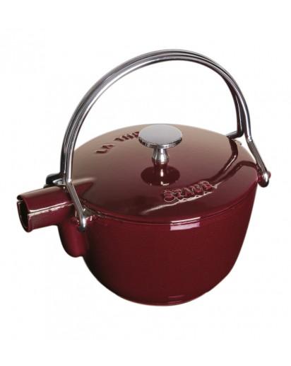 Staub: Round teapot, 16.5 cm, grenadine red