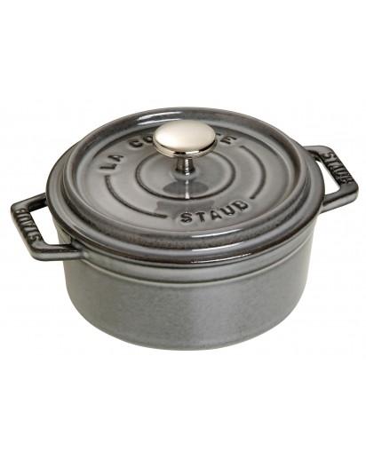 Staub: Round Cocotte, 12 cm, graphite grey