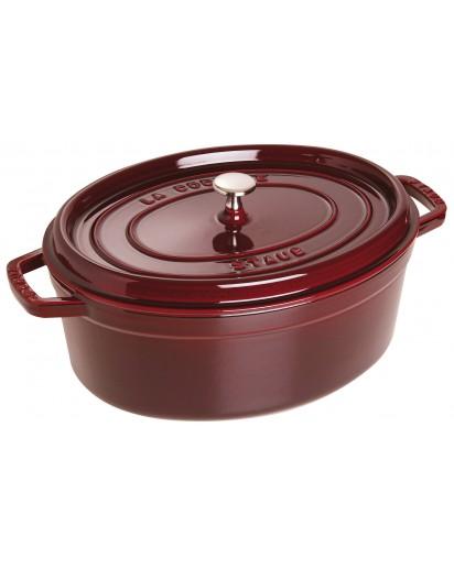 Staub: Oval Cocotte 33 cm, grenadine red