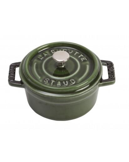 Staub: Round Mini Cocotte, 10 cm, basil
