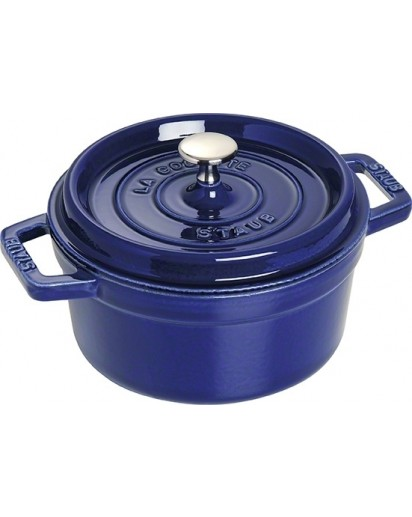 Staub: Round Cocotte 22 cm, dark blue