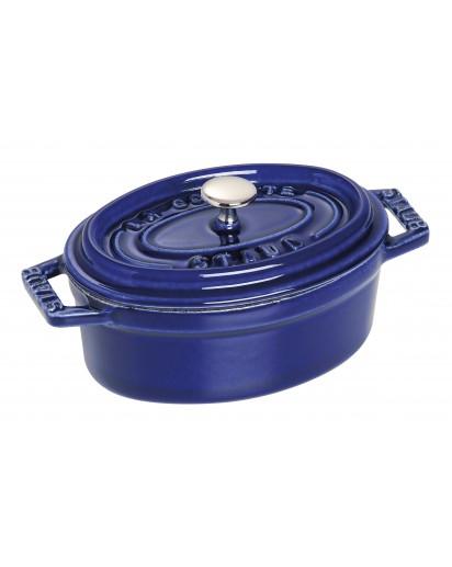 Staub: Oval Mini Cocotte, 11 cm, dark blue