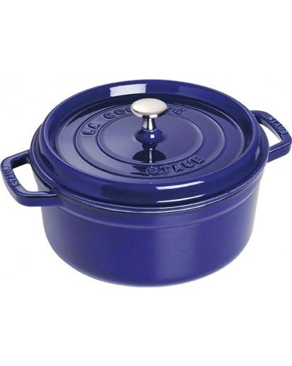 Staub: Round Cocotte 26 cm, dark blue