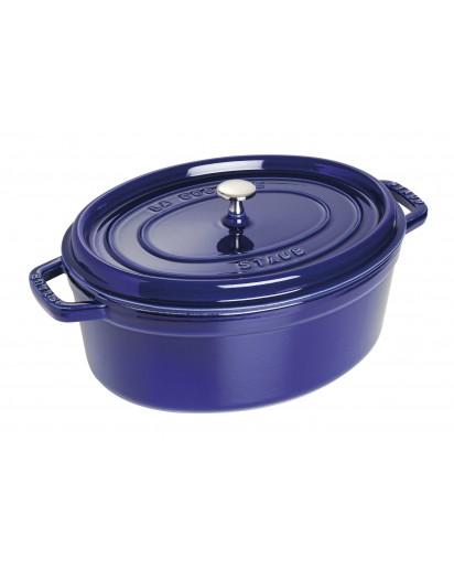 Staub: Oval Cocotte 33 cm, dark blue