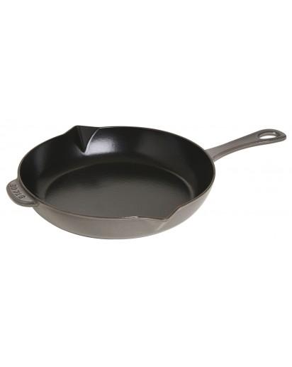Staub: Frying pan with cast iron handle, 26 cm, grey