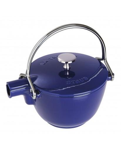 Staub: Round teapot, 16.5 cm, dark blue