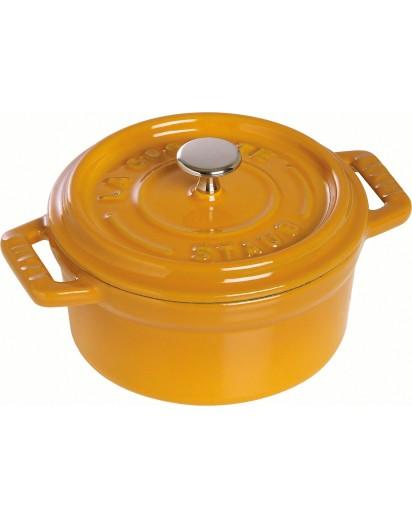 Staub: Round Mini Cocotte, 10 cm, mustard