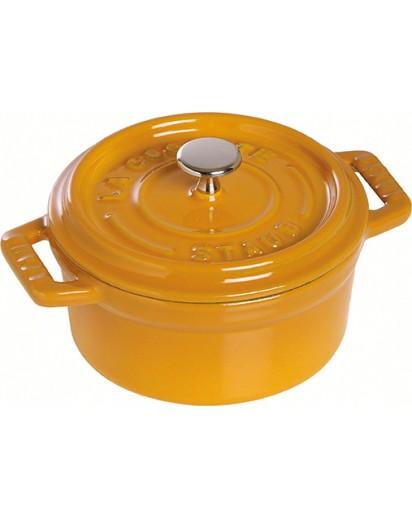 Staub: Round Cocotte 22 cm, mustard