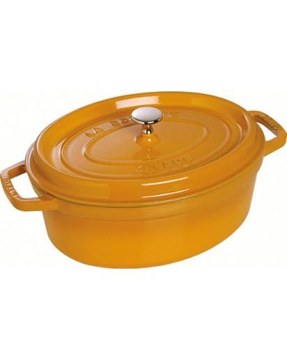 Staub: Oval Cocotte 23 cm, Mustard