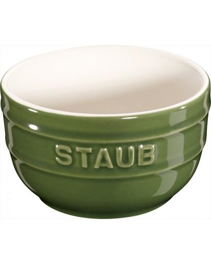 Staub: Förmchen 2er Set rund, Ø8cm, basilikumgrün
