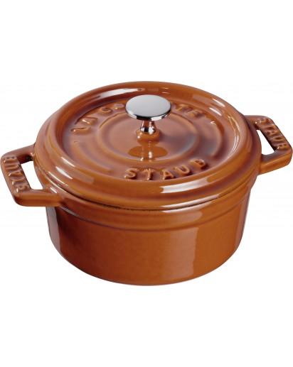 Staub: Round Mini Cocotte, 10 cm, cinnamon