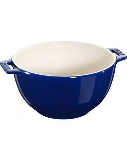 Staub: Salatschüssel, rund, 18 cm, blau