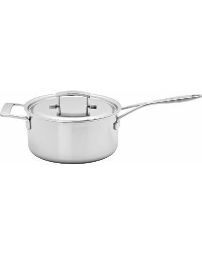 Demeyere: Saucepan Industry with lid 22cm