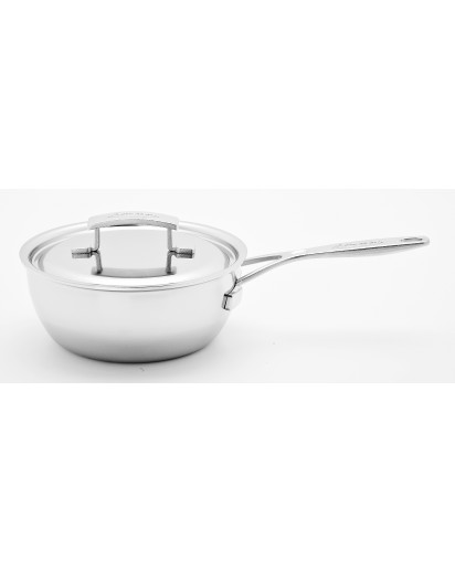 Demeyere: Conical sauteuse Industry with lid 20cm