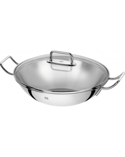 Zwilling: ® Plus Wok, ⌀ 32 cm, with Lid and Grill