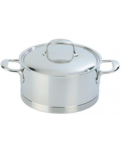 Demeyere: Stew pot with lid, Atlantis 20 cm