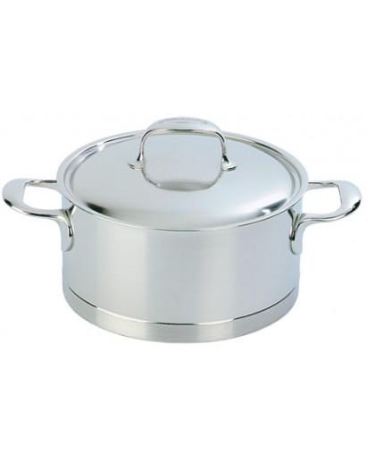 Demeyere: Stew pot with lid, Atlantis 22 cm