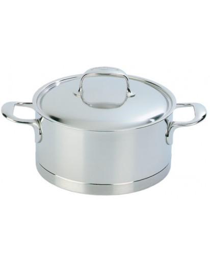 Demeyere: Stew pot with lid, Atlantis 24 cm