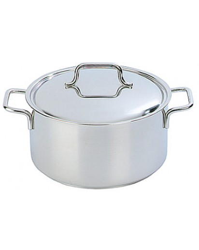 Demeyere: Casserole/saucepot Apollo with lid 18 cm