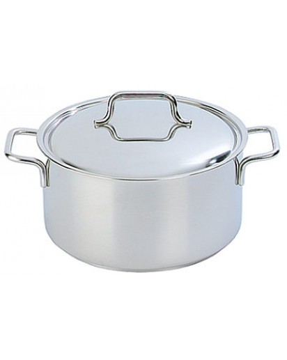 Demeyere: Casserole/saucepot Apollo with lid 20 cm
