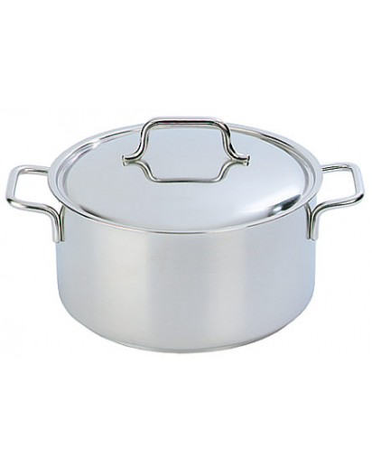 Demeyere: Casserole/saucepot Apollo with lid 24 cm