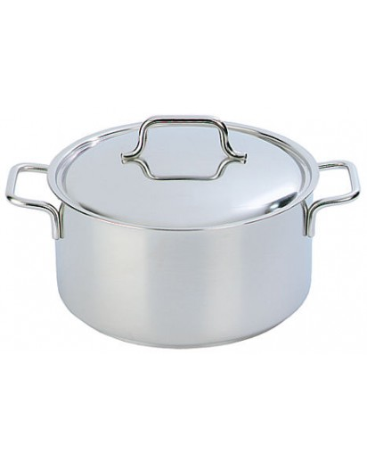 Demeyere: Casserole/saucepot Apollo with lid 28 cm