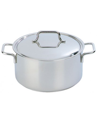 Demeyere: Casserole/saucepot Apollo with lid 30 cm